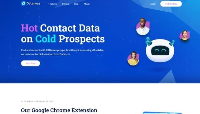 datanyze review lead generation software