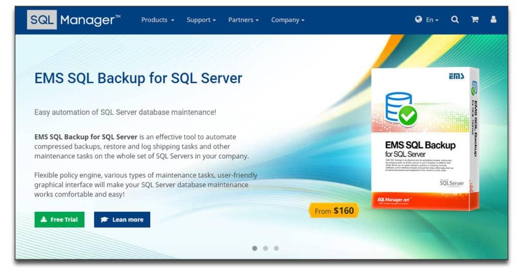 ems sql manager software database