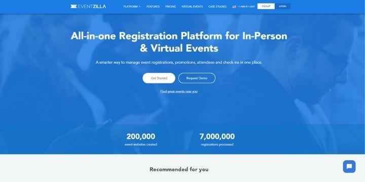 eventzilla event management software