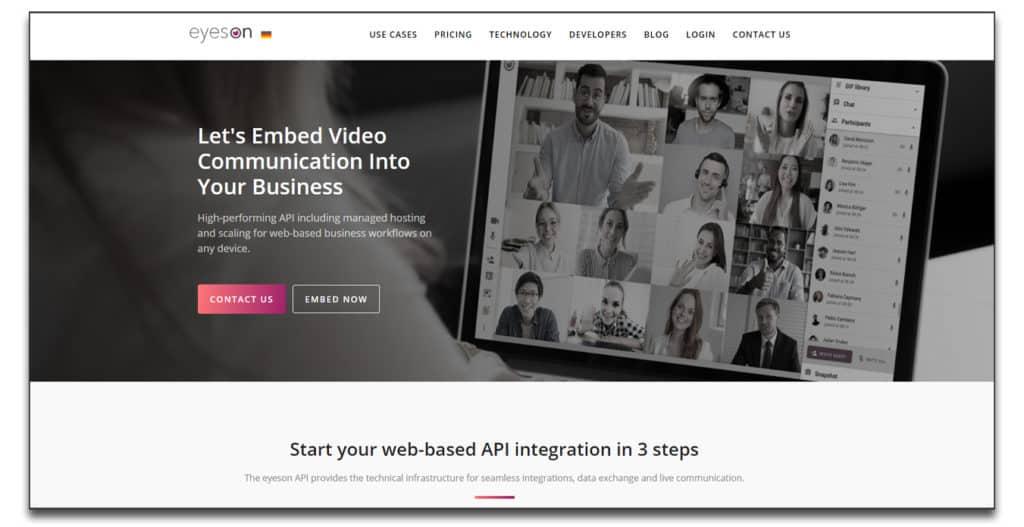 eyeson free webinar software