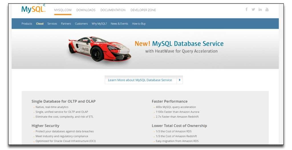 mysql database software review