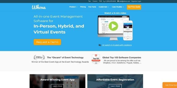 whova event management software